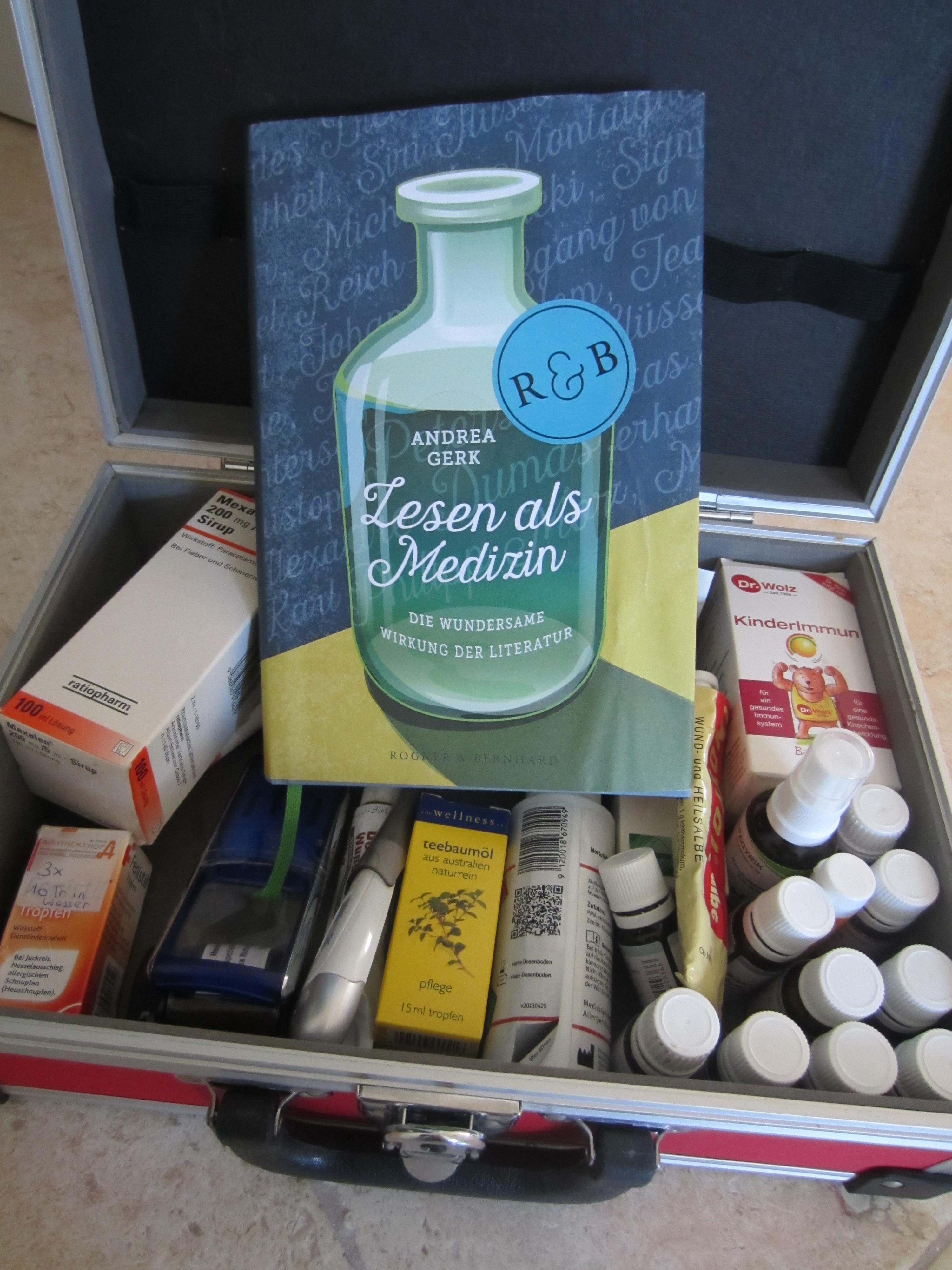 """11 Gründe, warum """"Lesen als Medizin"""" von Andrea Gerk gut ist"""